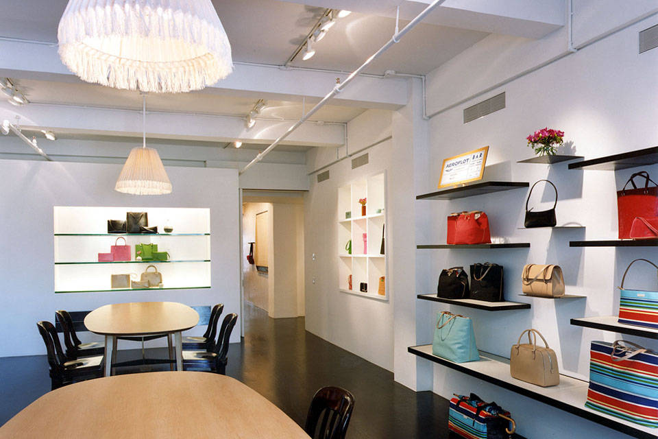 kate spade and showroom layout