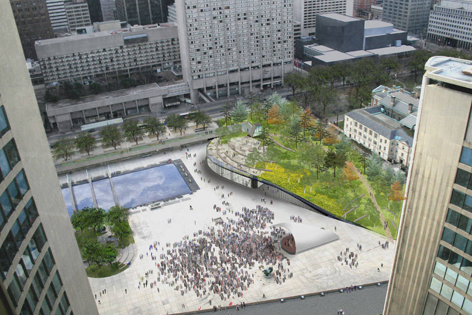 Nathan Phillips Square Competition Toronto Design