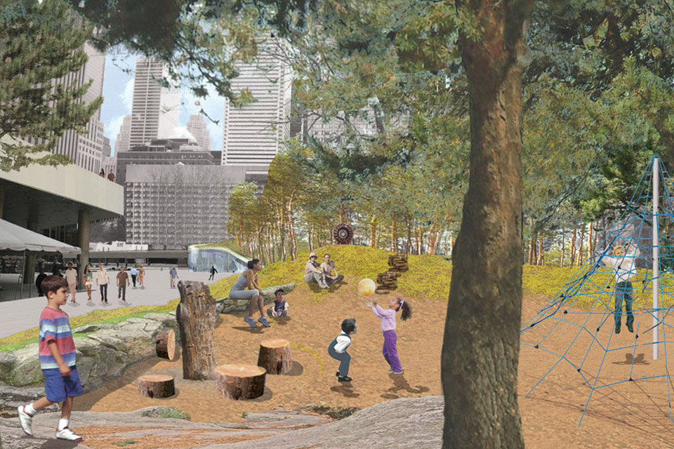 Nathan Phillips Square Competition Rendering