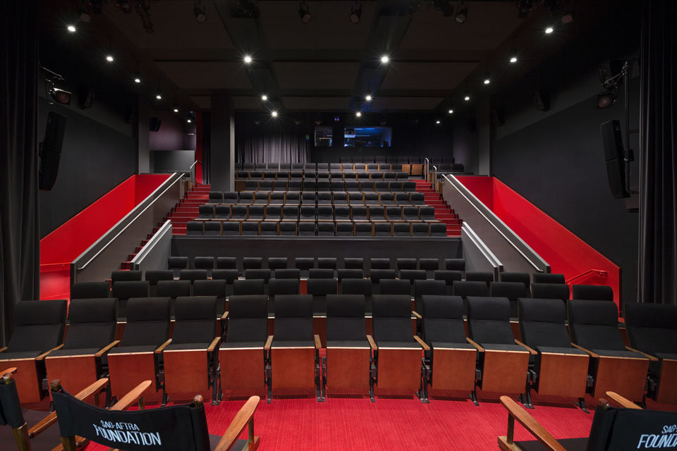 Screen Actors Guild Screening Room Design Plans